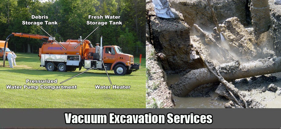 TSR Trenchless Services Vacuum Excavation